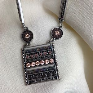 Lia Sophia square necklace